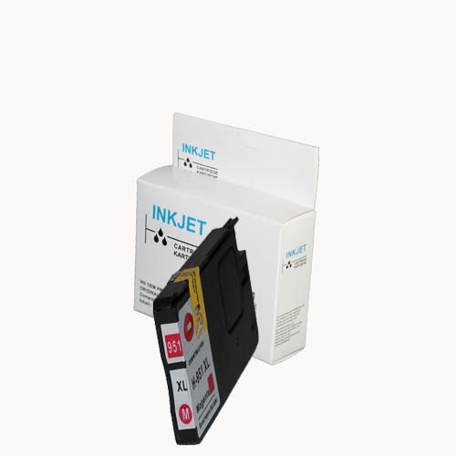 Huismerk HP-971XL inktcartridge magenta